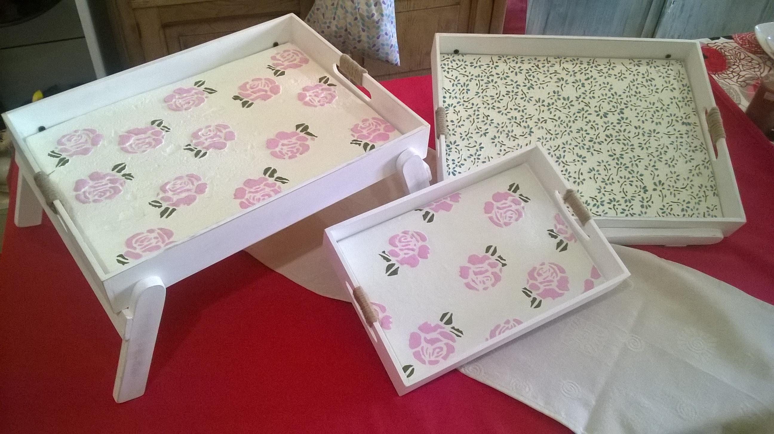 Cajas Apilables, Cajas de Te, Bandejas y más...